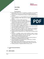 Srinivas TDDeveloper Profile