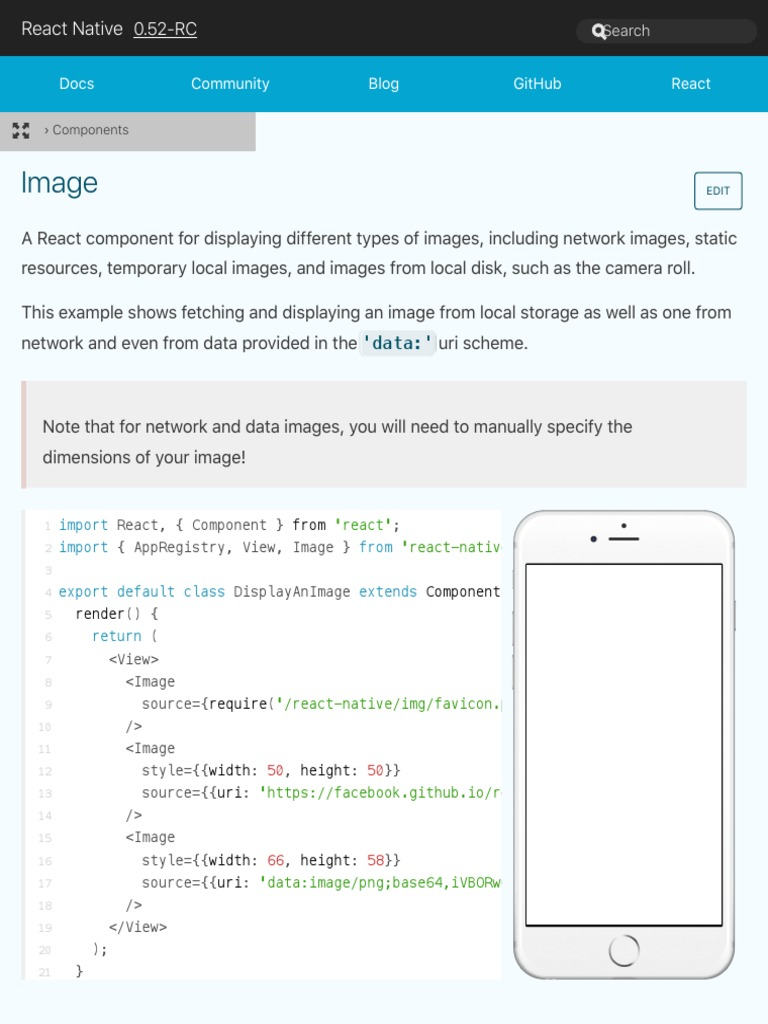 React Native Local Image To Base64