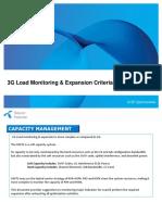 3G Expansion Criteria_Optimization Activities