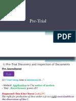 Pre-Trial Notes CPC