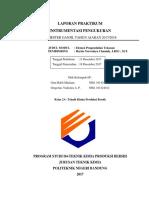 Laporan Praktikum Instrumentasi Tekanan
