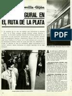 Viaje Inaugural Del TAF ''Ruta de La Plata''