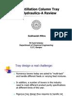 Distillation Column Tray Hydraulics