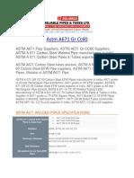 Astm a671 Gr Cc60