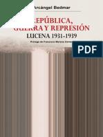 República, Guerra y Represión en Lucena