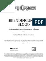 COR1-07 Brendingund Chronicle - 3 - Brendingund's Blood (1-6)