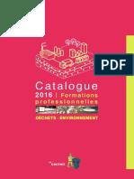 Catalogue 2016 OIEAU