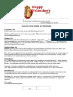 More Valentine's Day Activities