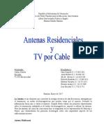 Antenas y TV Por Cable