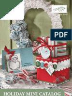Holiday Mini Catalog! WOW