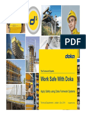Doka Safety Network Dec 2014 Rev-2 | Product Lifecycle | Safety