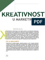 Kreativnost u Marketingu