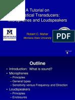 Transducer Tutorial