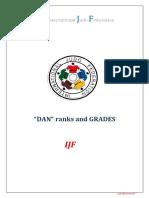 DAN Grades IJF Regulations