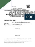 Carpeta Pedagógica CIENCIAS SOCIALES