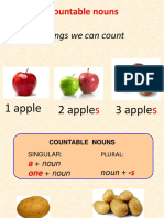 Countable Uncountable Nouns KET