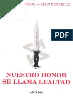 58625427 Nuestro Honor Se Llama Lealtad