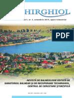Revista Sanatoriul Techirghiol 2015