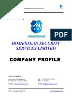 Homestead Company Profile
