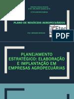 Planejamento Estratégico No Planos de Negócios Agropecuários