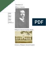 FILIPINO Architecture-American Colonial William Parsons