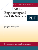 Joseph V. Tranquillo-MATLAB for Engineering and the Life Sciences (Synthesis Lectures on Engineering)  -Morgan & Claypool Publishers (2011).pdf