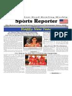 December 26 - 31, 2017  Sports Reporter