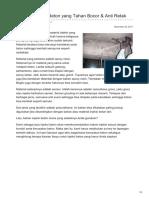 Material Injeksi Beton yang Tahan Bocor & Anti Retak—☎ 0821 1372 4737