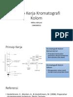 Prinsip Kerja Kromatografi Kolom