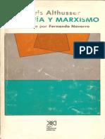 Louis Althusser Filosofia y Marxismo