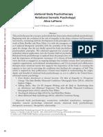 LaPierre - Relational Body Psychotherapy.pdf