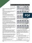 MSB-SP Specification Sheet