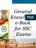 General Knowledge Notes for SSC CGL