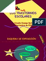 TRASTORNOS ESCOLES