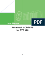 Advantech Codesys User Manual