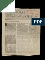 Obra Poética y Crítica de Angel Augier - Granma