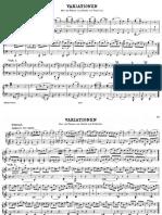 L.W.beethoven Variazioni Waldstein Piano 4 Hands