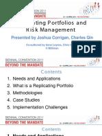 ReplicatingPortfolios Presentation