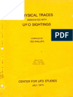 Physical Traces Associated With UFO Sightings - Ted Phillips