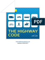 The Official Highway Code - 21-10-2017