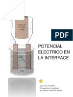 Informe - Potencial Electrico en La Interface