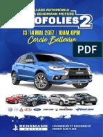 Autofolies Booklet 2017