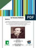 Tercera Sinfonia Mahler