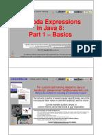13 Java 8 Lambda Expressions Part 1