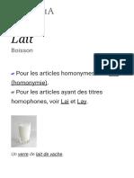Lait — Wikipédia