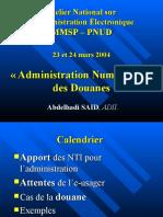 Douane Numerique Mars04