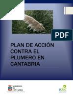 Plan de Accion Contra El Plumero en Cantabria