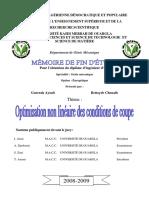 Mémoire 2009