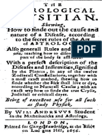 Book_W. 1656_The Astrological Physician_William Andrews