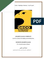 Présentation de La Société GECO